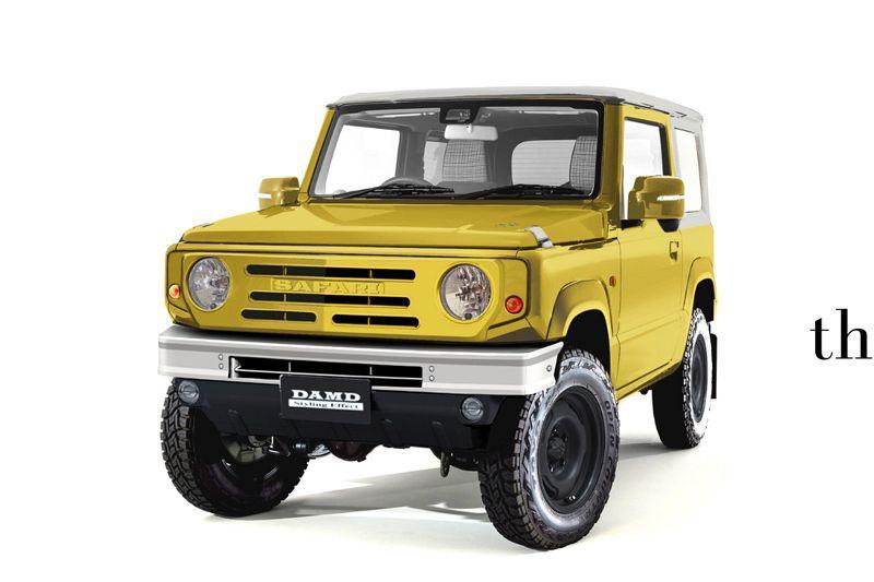 DAMD Suzuki Jimny en Honda N-Van