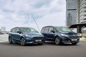 Ford Galaxy en S-Max ook als Hybrid
