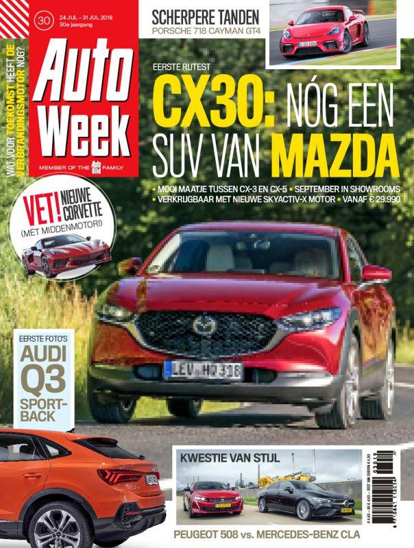 Ontvang 6 weken de Autoweek voor € 6.-