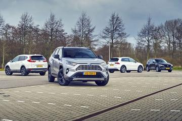 Toyota RAV4 - Honda CR-V - Mazda CX-5 - Volkswagen Tiguan - Multitest
