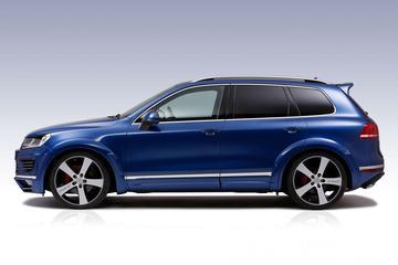 Volkswagen Touareg ten prooi aan JE Design