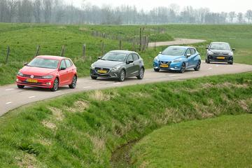 Kia Rio - Volkswagen Polo - Mazda 2 - Nissan Micra