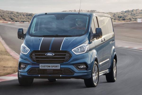Meer vermogen voor Ford Transit Sport Van
