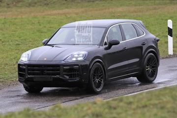 Porsche werkt aan facelift voor Cayenne