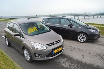 Ford C-Max - Opel Zafira - Occasiondubbeltest