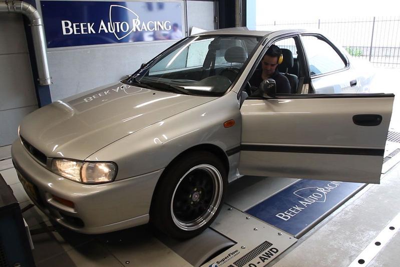 Subaru Impreza 1.6 AWD – Op de Rollenbank