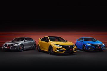 Honda Civic Type-R krijgt twee nieuwe versies