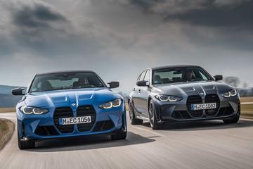 BMW M3 en BMW M4 Competition met xDrive-vierwielaandrijving