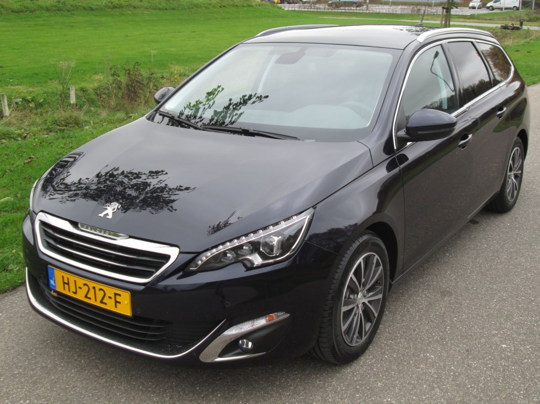 peugeot 308 sw blue lease premium 1 6 bluehdi 120 2015. Black Bedroom Furniture Sets. Home Design Ideas