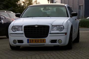 Op de rollenbank - Chrysler 300C Hemi