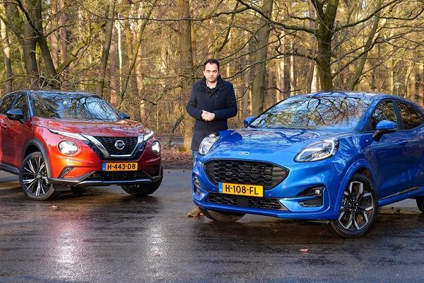 Ford Puma vs. Nissan Juke - Dubbeltest