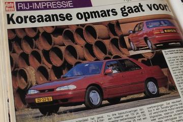 Hyundai Sonata - Rijtest - Uit de Oude Doos