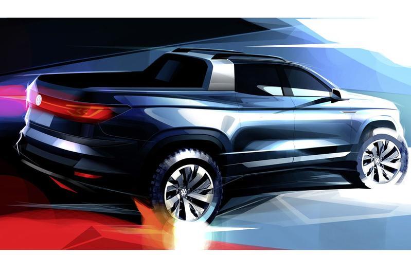 Volkswagen met pick-up concept naar São Paulo