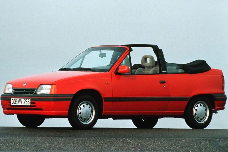 Opel Kadett Cabrio 1.6i GL (1989)