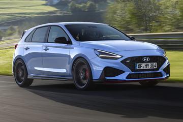 Dít is de vernieuwde Hyundai i30 N!