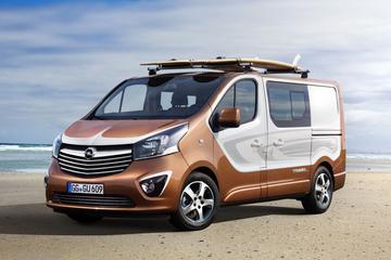 Opel Vivaro Surf Concept is bijna productierijp