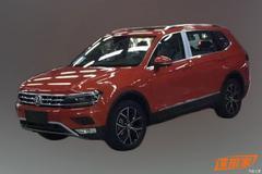 Lange Volkswagen Tiguan ongecamoufleerd