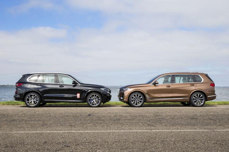 BMW X5 vs. BMW X7 - Dubbeltest