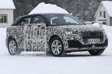 Elektrische Audi Q2 betrapt