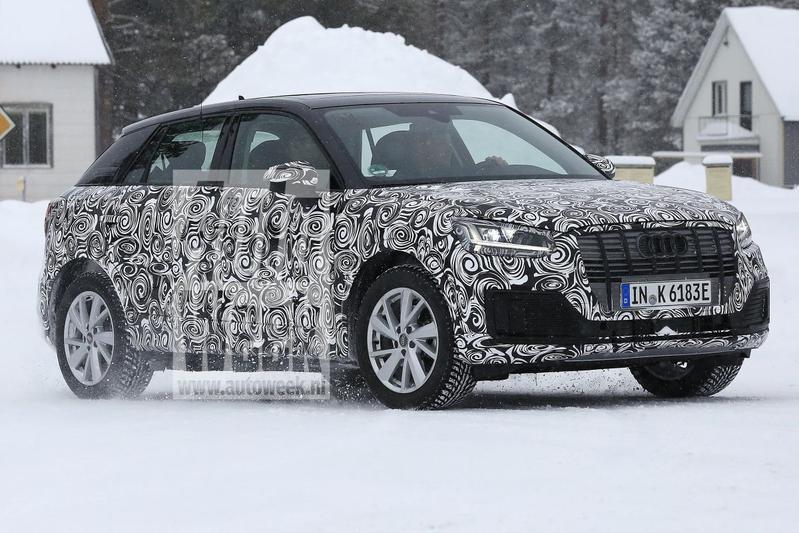 Audi Q2 E-Tron spionage