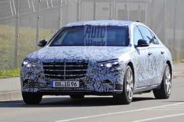 Nieuwe Mercedes-Benz S-klasse klaar voor kogelregen