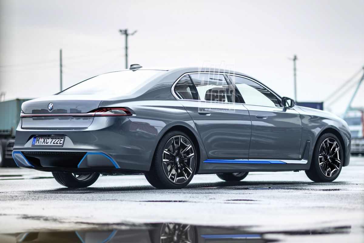 Look To The Future Bmw I7 Techzle