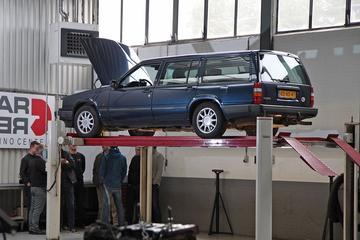 Volvo 940 Estate 2.3 - 834.900 km - Klokje Rond Deel 1/2