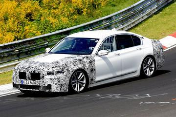 BMW jaagt gefacelifte 7-serie over de 'Ring