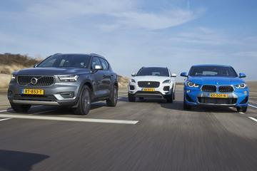 BMW X2 vs Jaguar E-Pace vs Volvo XC40 - Triotest
