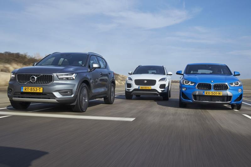 BMW X2 vs Jaguar E-Pace vs Volvo XC40 - Triotest