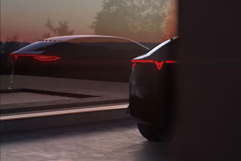 Cupra concept-car teaser