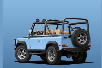 Land Rover Defender krijgt elektrische aandrijflijn