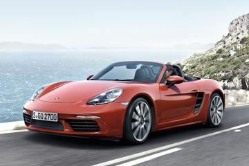 Porsche 718 Boxster in volle glorie