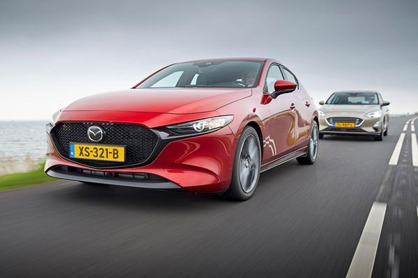 Mazda 3 vs. Ford Focus - Dubbeltest