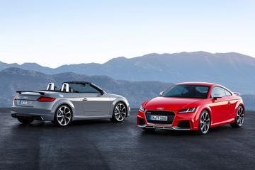 Audi TT RS Coupé en RS Roadster hebben hun prijs
