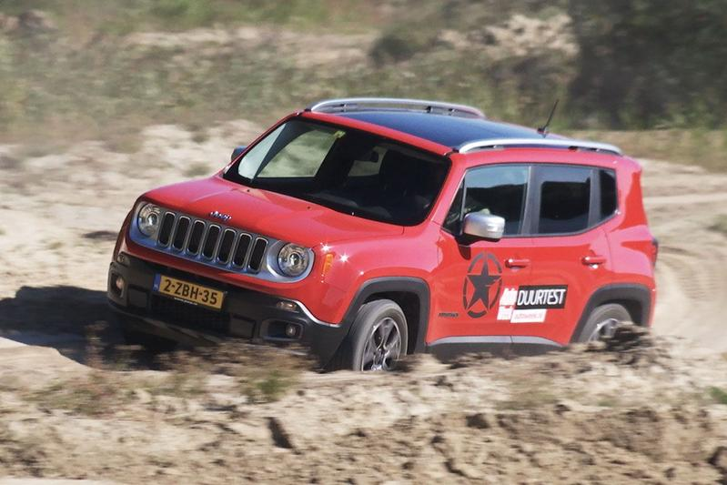 Duurtestgarage: Offroad met de Jeep Renegade