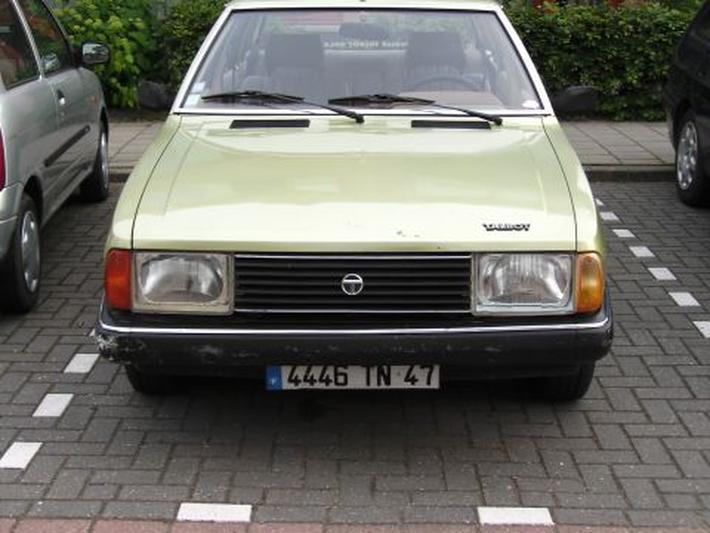 Talbot Solara 1.6 GLS (1981)