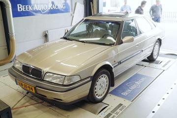 Rover 827 Si - Op de Rollenbank