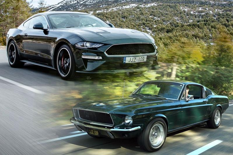 Ford Mustang Bullitt 2018-1968 - Rij-impressie