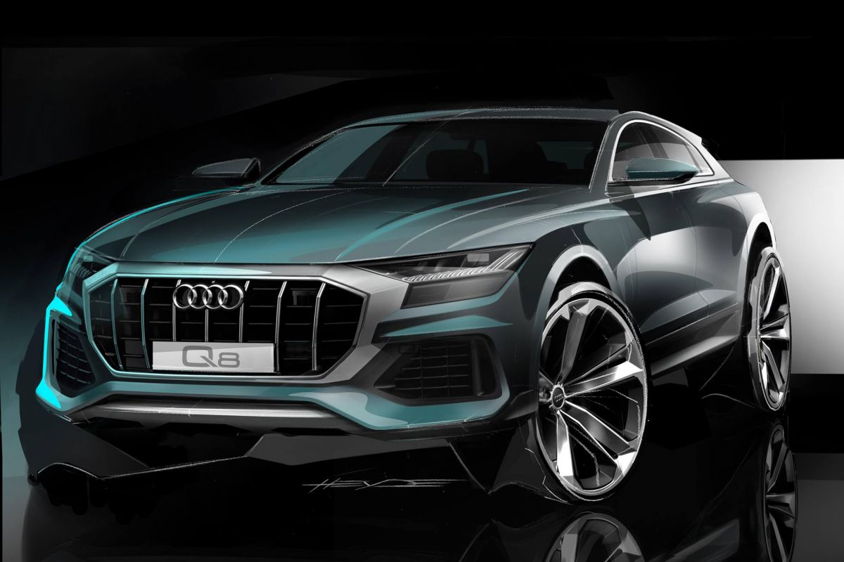audi q8 opnieuw in beeld. Black Bedroom Furniture Sets. Home Design Ideas