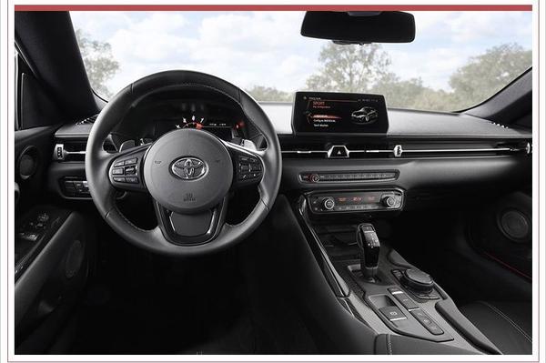 Interieur Toyota Supra duikt op