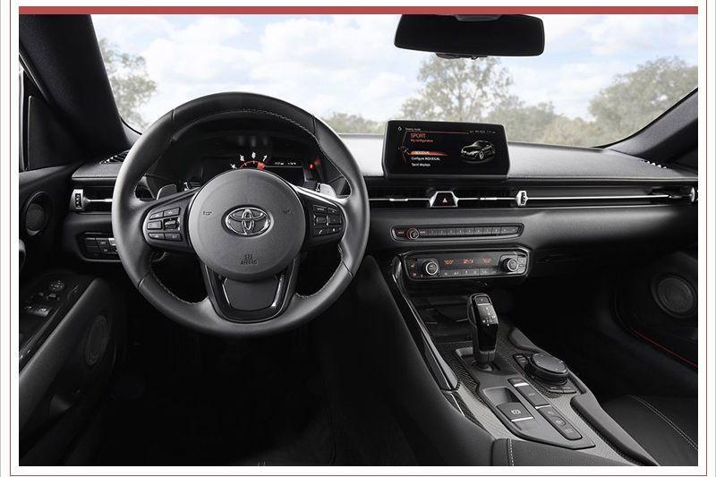 Toyota Supra gelekt