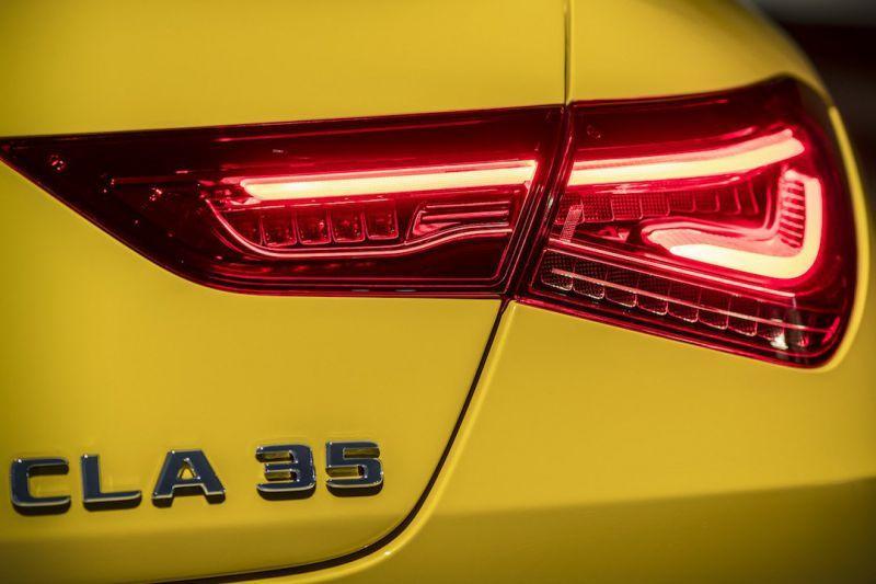 Mercedes-AMG CLA35 teaser