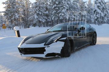 Ferrari FF facelift glijdt door Scandinavië