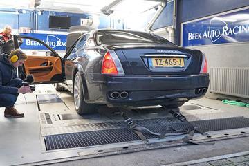 Maserati Quattroporte 4.2 - Op de Rollenbank
