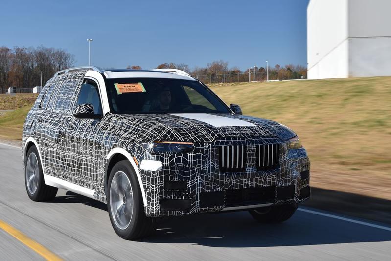 BMW toont stukjes X7