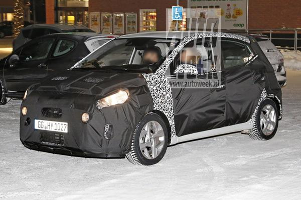 Nieuwe Hyundai i10 duikt op