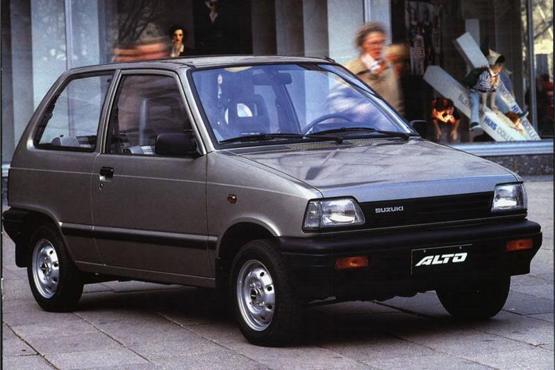 Facelift Friday Suzuki Alto II