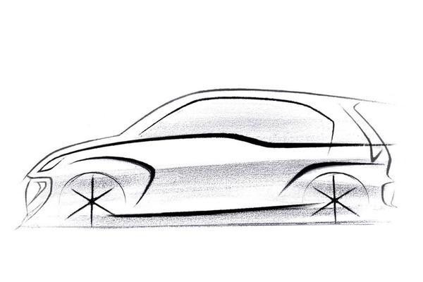 Hyundai teast nieuw kleintje voor India