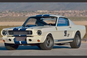 Beroemde Shelby Mustang voor miljoenen geveild